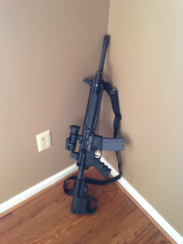 Smith & Wesson M&P15 with DD Lite Rail II.